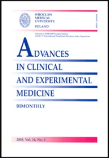 Advances in Clinical and Experimental Medicine, Vol. 14, 2005, nr 3