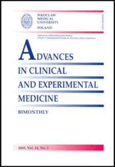 Advances in Clinical and Experimental Medicine, Vol. 14, 2005, nr 2