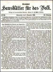 Breslauer Hausblätter für das Volk. Jg. 3, Nr. 98 (1865)