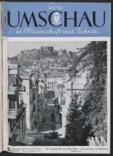 Die Umschau : Wochenschschrift über die Fortschritte in Wissenschaft und Technik. 45. Jahrgang, 1941, Heft 3