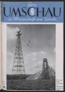 Die Umschau : Wochenschschrift über die Fortschritte in Wissenschaft und Technik. 45. Jahrgang, 1941, Heft 40