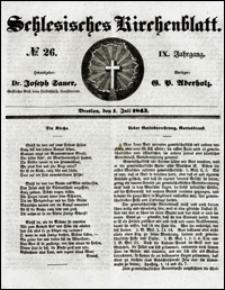 Schlesisches Kirchenblatt. Jg. 9, Nr. 26 (1843)