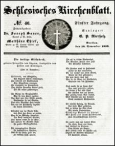 Schlesisches Kirchenblatt. Jg. 5, Nr. 46 (1839)