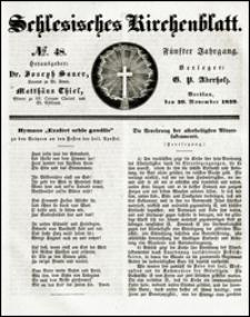 Schlesisches Kirchenblatt. Jg. 5, Nr. 48 (1839)