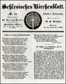 Schlesisches Kirchenblatt. Jg. 5, Nr. 51 (1839)