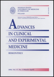 Advances in Clinical and Experimental Medicine, Vol. 17, 2008, nr 2