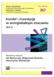 Międzynarodowy Fundusz Walutowy wobec kryzysu finansowego w Europie. Prace Naukowe Uniwersytetu Ekonomicznego we Wrocławiu = Research Papers of Wrocław University of Economics, 2012, Nr 267, T. 2, s. 307-317