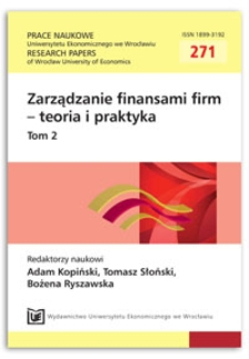 Can stock splits generate abnormal stock performance in post-crisis era? Evidence from the New York Stock Exchange. Prace Naukowe Uniwersytetu Ekonomicznego we Wrocławiu = Research Papers of Wrocław University of Economics, 2012, Nr 271, T. 2, s. 237-247