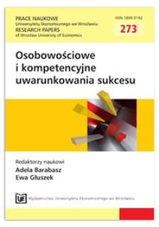 Kształtowanie inteligencji organizacji przez rozwijanie zdolności metapoznawczych. Prace Naukowe Uniwersytetu Ekonomicznego we Wrocławiu = Research Papers of Wrocław University of Economics, 2012, Nr 273, s. 47-57