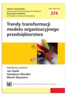 Metoda pomiaru społecznej i ekologicznej odpowiedzialności konsumentów. Prace Naukowe Uniwersytetu Ekonomicznego we Wrocławiu = Research Papers of Wrocław University of Economics, 2012, Nr 274, s. 9-18