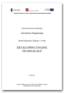 Developing engine technology