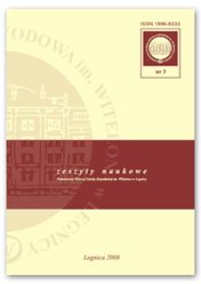 Zeszyty Naukowe, nr 3 (2008)