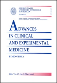 Advances in Clinical and Experimental Medicine, Vol. 17, 2008, nr 3