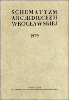 Schematyzm Archidiecezji Wrocławskiej. 1979