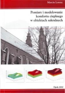 Pomiary i modelowanie komfortu cieplnego w obiektach sakralnych