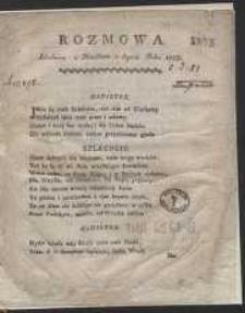 Rozmowa Szlachcica z Ministrem o Seymie Roku 1788