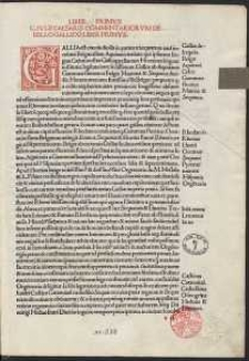 Commentarii / ed. Hieronymus Bononius