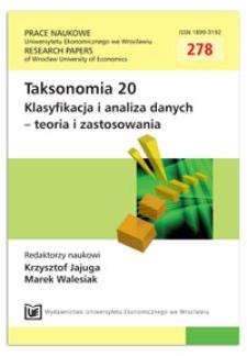 Analiza unfolding z wykorzystaniem modelu grawitacji. Prace Naukowe Uniwersytetu Ekonomicznego we Wrocławiu = Research Papers of Wrocław University of Economics, 2013, Nr 278, s. 216-224