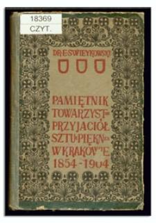 Pamiętnik Towarzystwa Przyjaciół Sztuk Pięknych w Krakowie 1854-1904