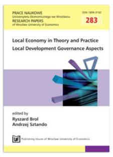 Scope and forms of cooperation in Polish local government. Prace Naukowe Uniwersytetu Ekonomicznego we Wrocławiu = Research Papers of Wrocław University of Economics, 2013, Nr 283, s. 61-72