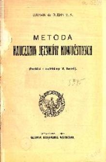 Metoda nauczania języków nowożytnych