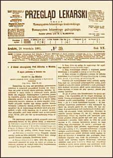 O użyciu jodoformu w leczeniu ran, Przegląd Lekarski, 1881, R. 20, nr 39, s. 505-506