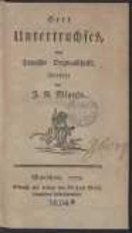 Herr Untertruchses : eine Polnische Originalschrift […]