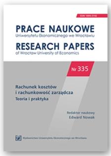 Proces zarządzania ryzykiem a system informacyjny przedsiębiorstwa. Prace Naukowe Uniwersytetu Ekonomicznego we Wrocławiu = Research Papers of Wrocław University of Economics, 2014, Nr 335, s. 194-202
