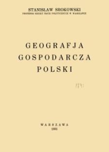 Geografja gospodarcza Polski