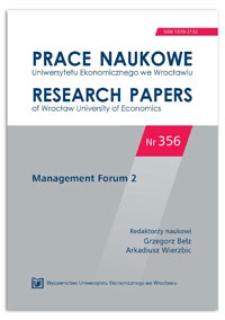 Analiza sieciowa jako metoda badawcza w naukach o zarządzaniu