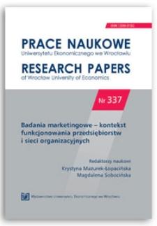 Crowdsourcing narzędziem wzrostu potencjału innowacyjnego przedsiębiorstw oraz wzrostu sprzyjającego włączeniu społecznemu. Prace Naukowe Uniwersytetu Ekonomicznego we Wrocławiu = Research Papers of Wrocław University of Economics, 2014, Nr 337, s. 88-96