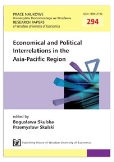 Natural disasters and trade linkages in Asia – the case of Indonesia. Prace Naukowe Uniwersytetu Ekonomicznego we Wrocławiu = Research Papers of Wrocław University of Economics, 2013, Nr 294, s. 163-173