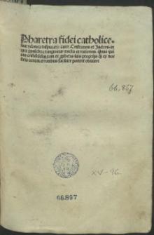 Pharetra fidei catholicae contra Iudaeos