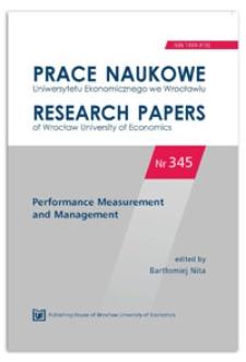 Conceptual framework of strategic and operational cost accounting in agriculture. Prace Naukowe Uniwersytetu Ekonomicznego we Wrocławiu = Research Papers of Wrocław University of Economics, 2014, Nr 345, s. 39-46