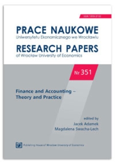 Polish balance sheet law vs. accounting regulations in Poland. Prace Naukowe Uniwersytetu Ekonomicznego we Wrocławiu = Research Papers of Wrocław University of Economics, 2014, Nr 351, s. 50-63