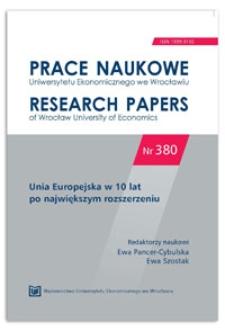 Polityka spójności UE a obszary funkcjonalne centrów regionalnych w Polsce
