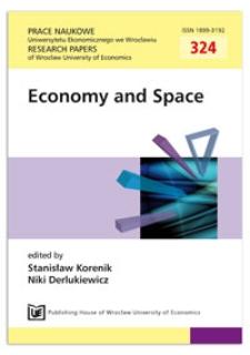 Metropolization of the Polish space and its implications for regional development. Prace Naukowe Uniwersytetu Ekonomicznego we Wrocławiu = Research Papers of Wrocław University of Economics, 2013, Nr 324, s. 167-175