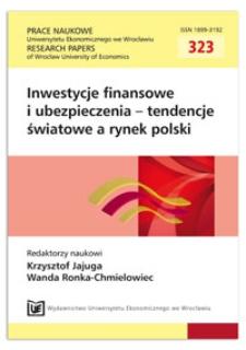 Analiza wybranych miar ryzyka płynności dla akcji notowanych na GPW w Warszawie w latach 2001-2011. Prace Naukowe Uniwersytetu Ekonomicznego we Wrocławiu = Research Papers of Wrocław University of Economics, 2013, Nr 323, s. 289-297
