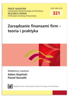 Performance related compensation factors in the activity of global hedge funds. Prace Naukowe Uniwersytetu Ekonomicznego we Wrocławiu = Research Papers of Wrocław University of Economics, 2013, Nr 321, s. 201-210