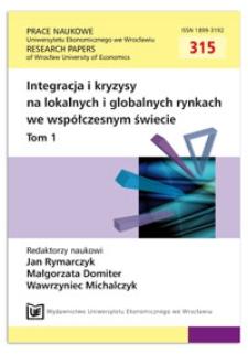 Kryzys polityczny i jego logistyczne konsekwencje dla międzynarodowej sieci dostaw. Prace Naukowe Uniwersytetu Ekonomicznego we Wrocławiu = Research Papers of Wrocław University of Economics, 2013, Nr 315, T. 1, s. 54-63