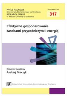 Obszary przyrodniczo cenne w zrównoważonym rozwoju obszarów wiejskich Podkarpacia. Prace Naukowe Uniwersytetu Ekonomicznego we Wrocławiu = Research Papers of Wrocław University of Economics, 2013, Nr 317, s. 193-202
