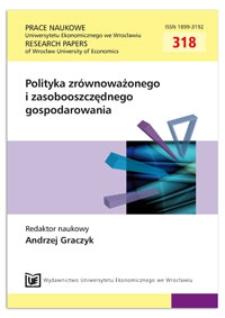 Zarządzanie ryzykiem środowiskowym jako narzędzie wpierania gospodarki bardziej przyjaznej środowisku. Prace Naukowe Uniwersytetu Ekonomicznego we Wrocławiu = Research Papers of Wrocław University of Economics, 2013, Nr 318, s. 255-263
