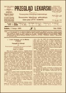 Przyczynek do sposobu operowania polipów nosopołykowych, Przegląd Lekarski, 1883, R. 22, nr 5, s. 53-55