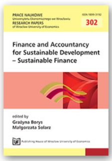 Financial reporting as the instrument presenting entities' responsibility for their economic and social performance. Prace Naukowe Uniwersytetu Ekonomicznego we Wrocławiu = Research Papers of Wrocław University of Economics, 2013, Nr 302, s. 187-195