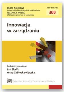 Model procesowy innowacji: ramy teoretyczne. Prace Naukowe Uniwersytetu Ekonomicznego we Wrocławiu = Research Papers of Wrocław University of Economics, 2013, Nr 300, s. 67-77