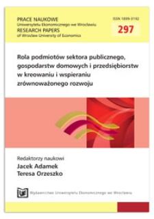 Metody internalizacji kosztów zewnętrznych związanych z emisją gazów cieplarnianych. Prace Naukowe Uniwersytetu Ekonomicznego we Wrocławiu = Research Papers of Wrocław University of Economics, 2013, Nr 297, s. 273-281