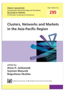 Clusters in India as an instrument for enhancing the innovation, productivity and competitiveness of micro and small enterprises. Prace Naukowe Uniwersytetu Ekonomicznego we Wrocławiu = Research Papers of Wrocław University of Economics, 2013, Nr 295, s. 50-60