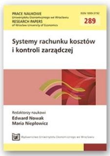 Modelowanie docelowych osiągnięć organizacji. Prace Naukowe Uniwersytetu Ekonomicznego we Wrocławiu = Research Papers of Wrocław University of Economics, 2013, Nr 289, s. 365-372