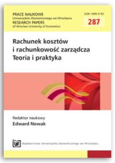 Zewnętrzne źródła informacji o czynnikach sukcesu w branży motoryzacyjnej. Prace Naukowe Uniwersytetu Ekonomicznego we Wrocławiu = Research Papers of Wrocław University of Economics, 2013, Nr 287, s. 9-24