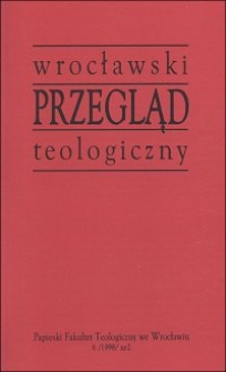 Wrocławski Przegląd Teologiczny, R.6 (1998), nr 2